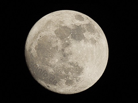 Vollmond 1000 mm